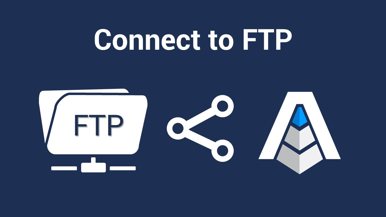 FTP connect data